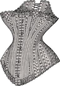 Korsett 1880