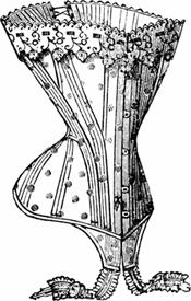 Korsett 1905