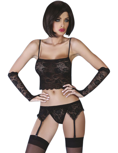 Livco Corsetti - Modesta schwarz LC 90051 Joelle Collection